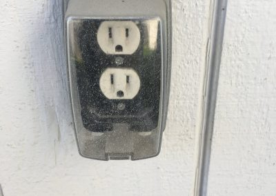 covered outlet inspection